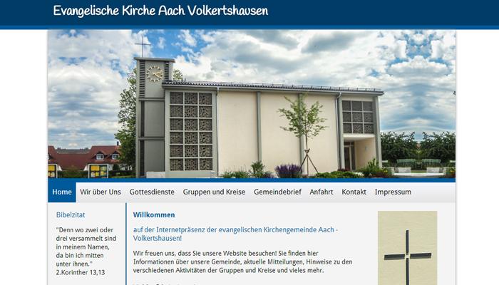 Evangelische kirche aach volkertshausen